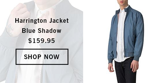 HARRINGTON JACKET BLUE SHADOW BS0047822119