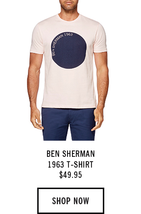 BEN SHERMAN 1963 T-SHIRT