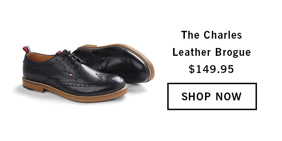 The Charles Leather Brogue