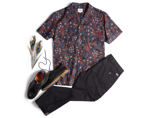PEACOCK REVOLUTION OUTFIT