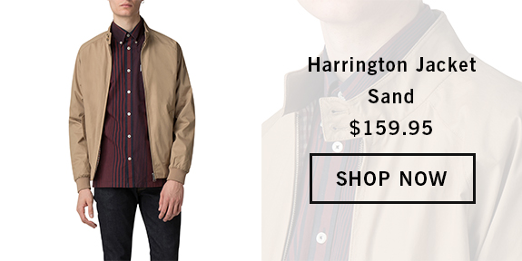HARRINGTON JACKET SAND BS0047822310