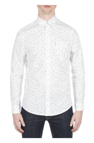 Scattered Geo Print Shirt