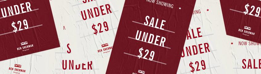 Mid Season Sale $29 & Under