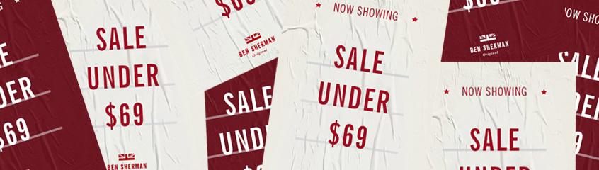 Mid Season Sale $69 & Under