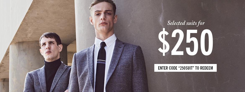 Suits $250