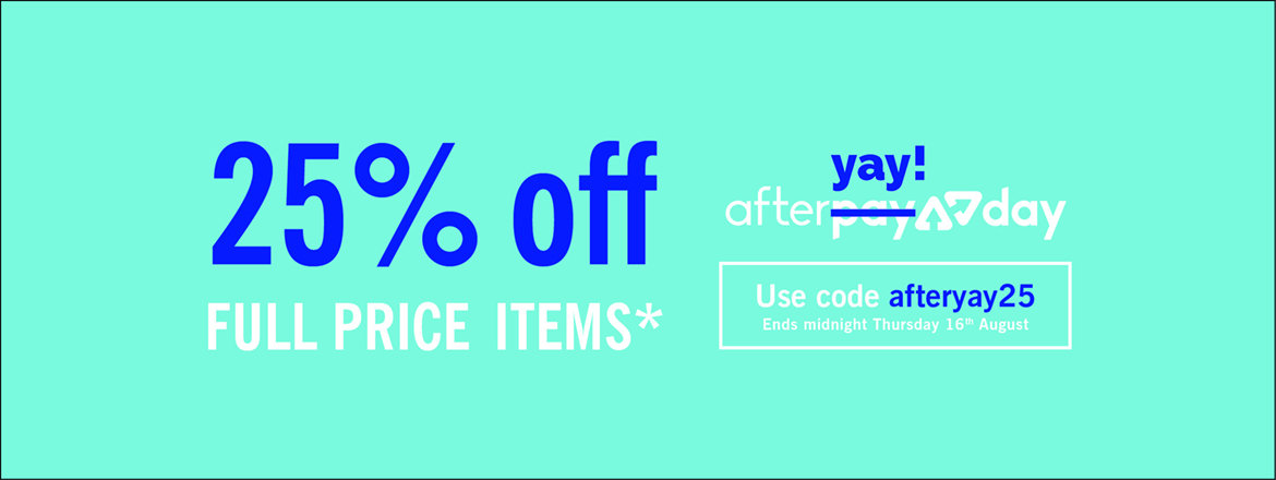 Afteryay 25% off