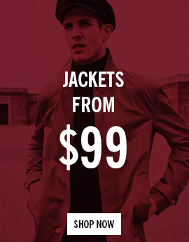 Jackets from $99