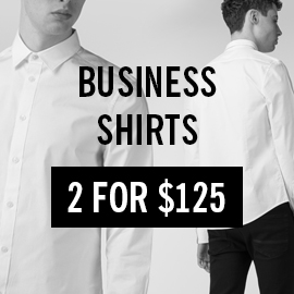 Business shirts 2 for $125