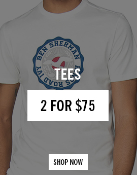 tees 2 for $75