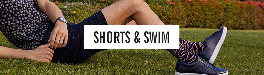shorts and swims