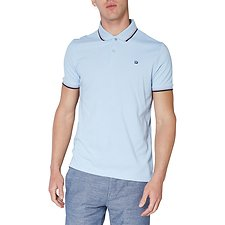 Image of Ben Sherman Australia LIGHT BLUE ROMFORD POLO