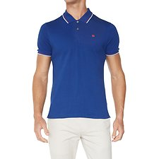 Image of Ben Sherman Australia ROYAL BLUE THE ROMFORD POLO