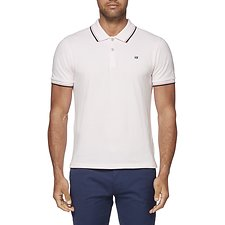 Image of Ben Sherman Australia LIGHT PINK ROMFORD POLO