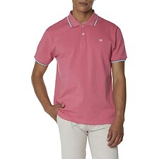 Image of Ben Sherman Australia CANDY PINK THE ROMFORD POLO