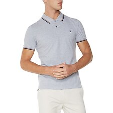 Image of Ben Sherman Australia OXFORD MARL ROMFORD POLO