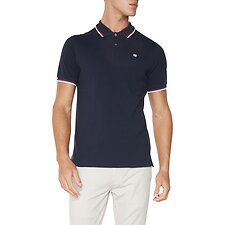 Image of Ben Sherman Australia NAVY/WHITE THE ROMFORD POLO