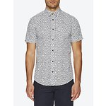 Image of Ben Sherman Leaf Print Mod Fit Shirt