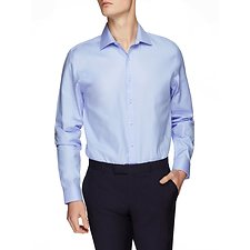 Image of Ben Sherman Australia SUMMER SKY SATEEN TWILL KINGS SHIRT