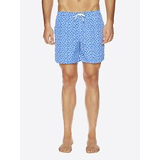 Picture of Leaf Print Swim Short