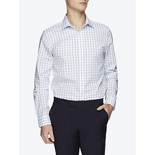 Picture of WINDOW PANE CHECK KINGS BUSINESS SHIRT