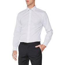 Image of Ben Sherman Australia BRIGHT WHITE DIAMOND DOT KINGS  SHIRT