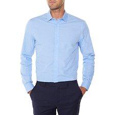 Picture of Long sleeve Dot Check Camden Shirt