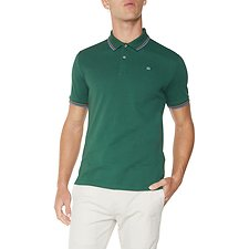 Image of Ben Sherman Australia HUNTER GREEN ROMFORD POLO