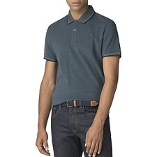 Image of Ben Sherman Australia TEAL ROMFORD POLO