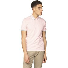 Image of Ben Sherman Australia PALE PINK THE ROMFORD POLO