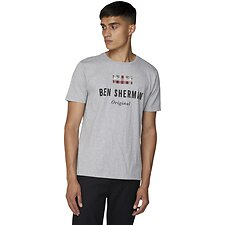 Image of Ben Sherman Australia GREY THE ORIGINAL T-SHIRT