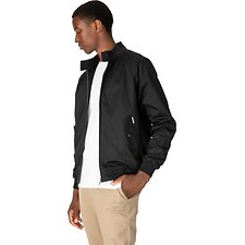 Image of Ben Sherman Australia BLACK HARRINGTON JACKET