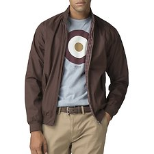 Image of Ben Sherman Australia BROWN HARRINGTON JACKET