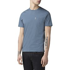 Picture of PLAIN POCKET CREW T-SHIRT