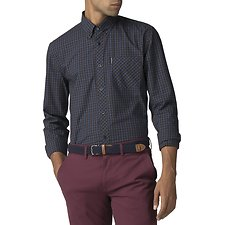 Image of Ben Sherman Australia BARK HOUSE CHECK SHIRT