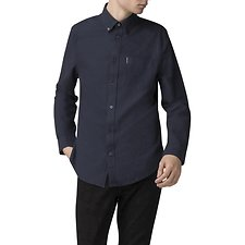 Image of Ben Sherman Australia DARK NAVY OXFORD SHIRT