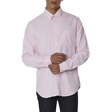 Image of Ben Sherman Australia LIGHT PINK OXFORD SHIRT