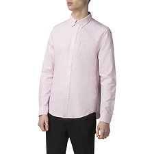 Image of Ben Sherman Australia PINK OXFORD SHIRT