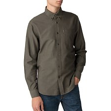 Image of Ben Sherman Australia OLIVE OXFORD SHIRT