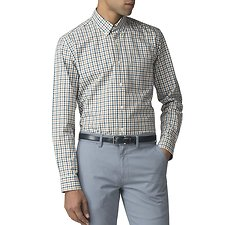 Image of Ben Sherman Australia LAKE BLUE HOUSE GINGHAM SHIRT