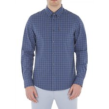 Image of Ben Sherman Australia DUSKY BLUE HOUSE GINGHAM SHIRT