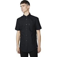 Image of Ben Sherman Australia BARELY BLACK OXFORD SHIRT