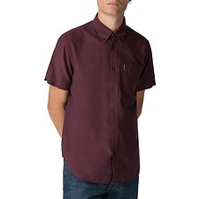Image of Ben Sherman Australia WINE OXFORD SHIRT