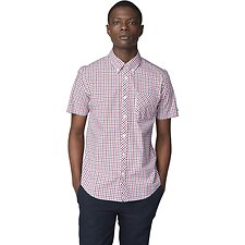 Image of Ben Sherman Australia DARK BLUE HOUSE CHECK SHIRT