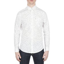 Image of Ben Sherman Australia GREEN SCATTERED GEO SHIRT