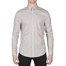 Image of Ben Sherman Australia OFF WHITE MICRO DIAMOND PRINT SHIRT