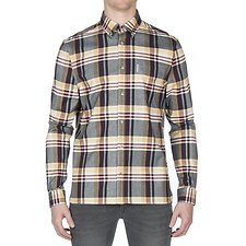 Picture of BRUSHED CREPE CHECK SHIRT