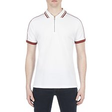 Picture of ZIP PLACKET SARTORIAL POLO