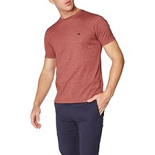 Image of Ben Sherman Australia RUST THE PLAIN GRINDLE T-SHIRT