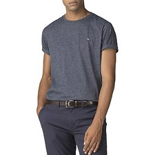 Image of Ben Sherman Australia NAVY THE PLAIN GRINDLE T-SHIRT