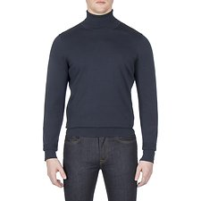 Picture of THE FINE GAUGE ROLL NECK KNIT